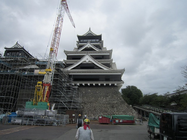 熊本城作業風景 (5)