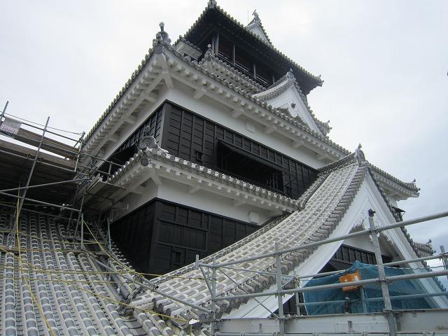 熊本城作業風景 (4)